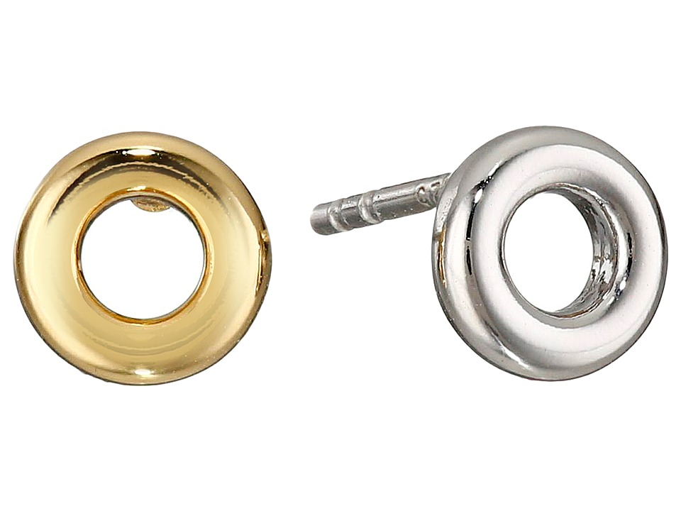 Marc by Marc Jacobs Eyelet Stud Metal Earrings Oro Multi Earring