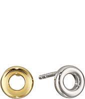 Marc by Marc Jacobs - Eyelet Stud Metal Earrings
