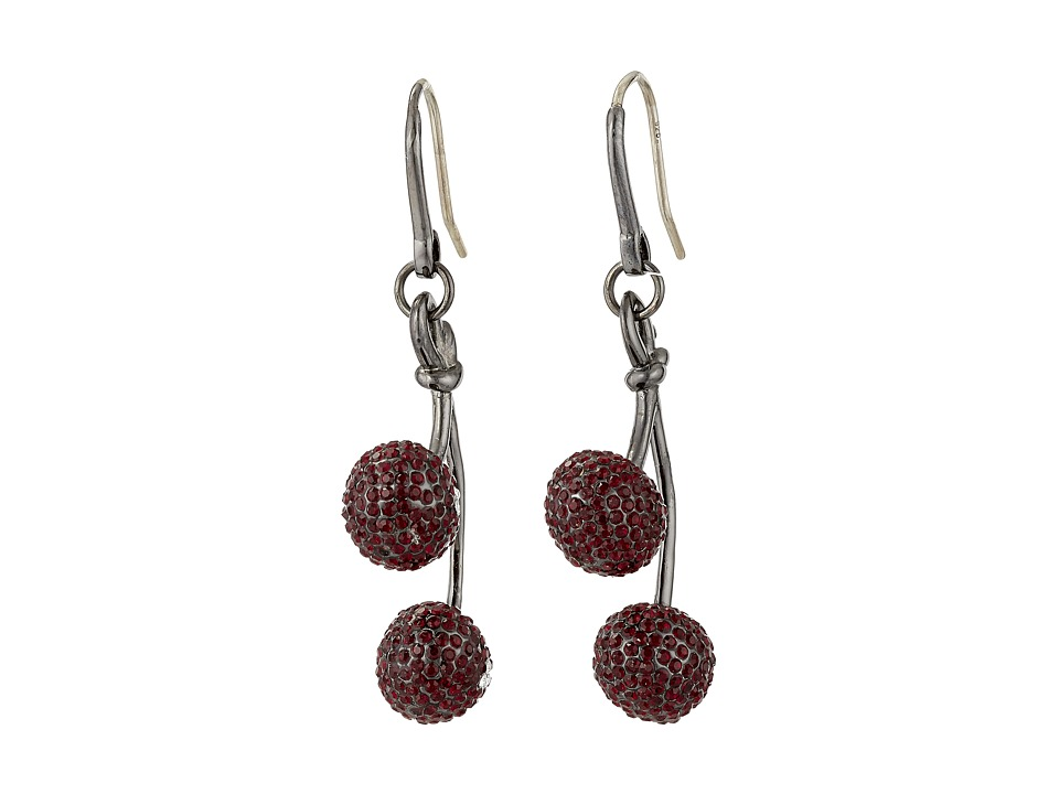 Marc by Marc Jacobs Pave Cherry Earrings Cherry Multi Earring