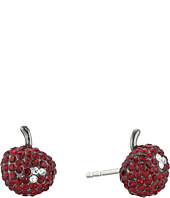 Marc by Marc Jacobs - Cherry Pave Stud Earrings