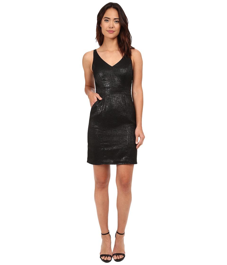 Susana Monaco Pearl Dress Black Womens Dress