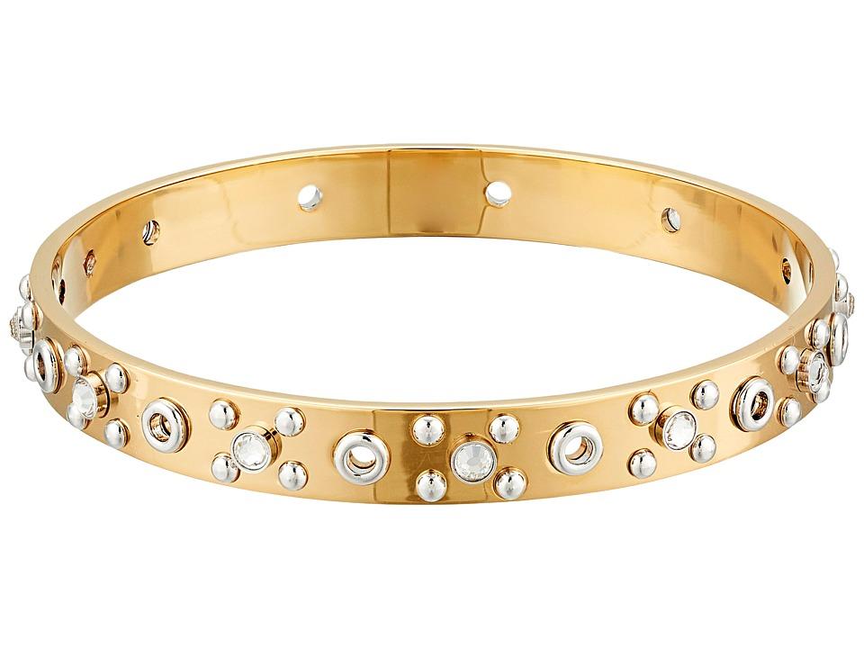 Marc by Marc Jacobs Eyelet Bangle Metal Bracelet Oro Multi Bracelet