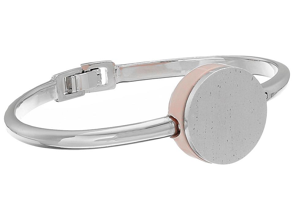 Marc by Marc Jacobs Cabochon Hinge Cuff Bracelet Blush Bracelet