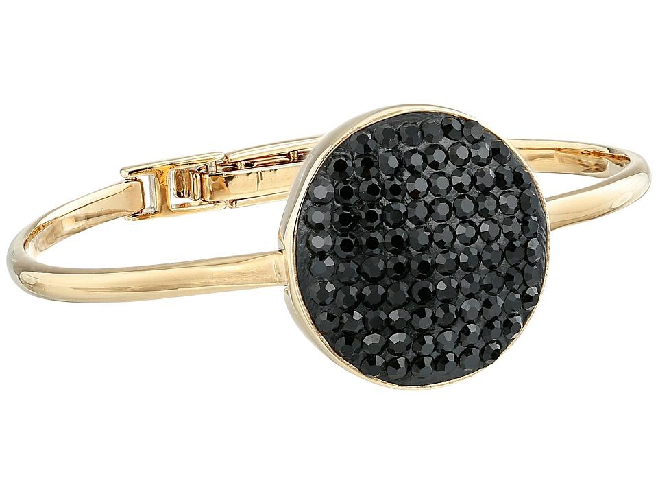 Marc by Marc Jacobs Pave Disc Hinge Cuff Bracelet Black Bracelet