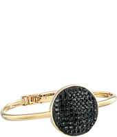 Marc by Marc Jacobs - Pave Disc Hinge Cuff Bracelet