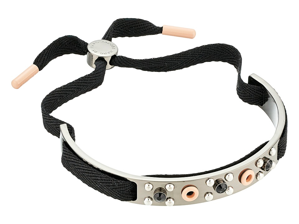 Marc by Marc Jacobs Eyelet Friendship Bracelet Enamel Blush Multi Bracelet