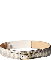 Vince Camuto - 45mm Printed Snake Tapered Stretch Belt