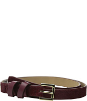 Vince Camuto - 20mm Haircalf Belt with Smooth Wrapped Loop