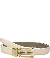 Vince Camuto - 20mm Reversible Belt with Stitched Wrap Roller Buckle