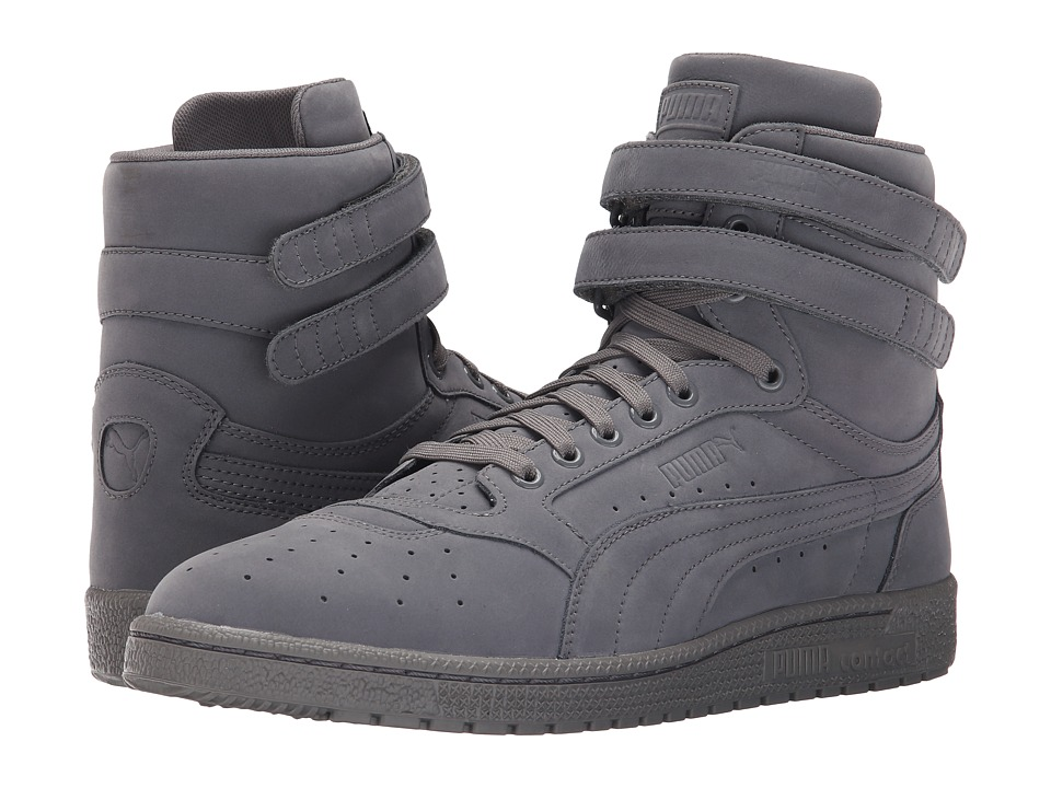 PUMA Sky II Hi Mono NBK Steel Gray/White Mens Basketball Shoes