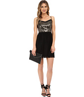Jack by BB Dakota - Carrian Sequin Bodice and Black Mesh Dress