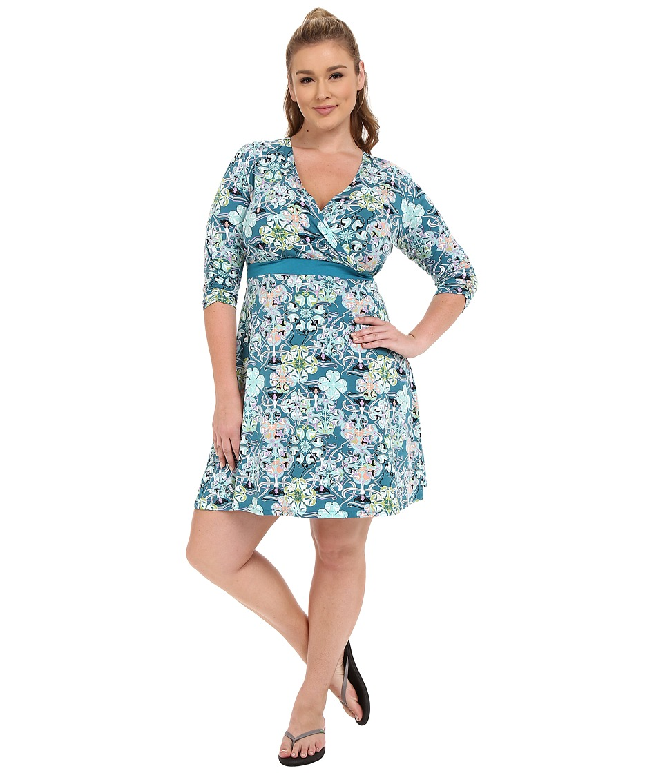 Soybu Plus Size Clara Wrap Dress Botanica Womens Dress