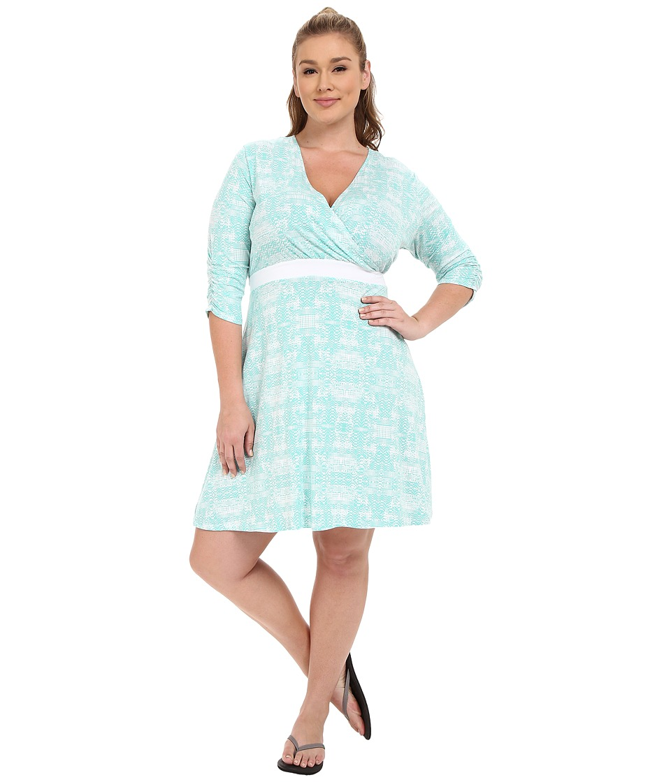 Soybu Plus Size Clara Wrap Dress Mirage Womens Dress