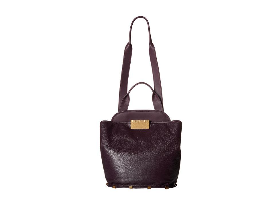 ZAC Zac Posen - Blythe Sling (Raisin) Shoulder Handbags