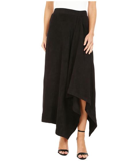 Mod-o-doc - Hi-Low Hem Skirt (Black) Women's Skirt