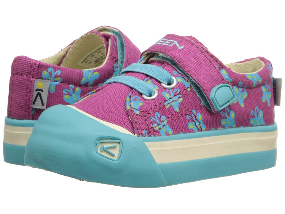 Keen Kids Coronado Print Toddler Very Berry Butterfly Girls Shoes