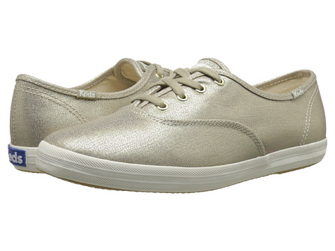 Keds Champion Metallic Canvas - Gold