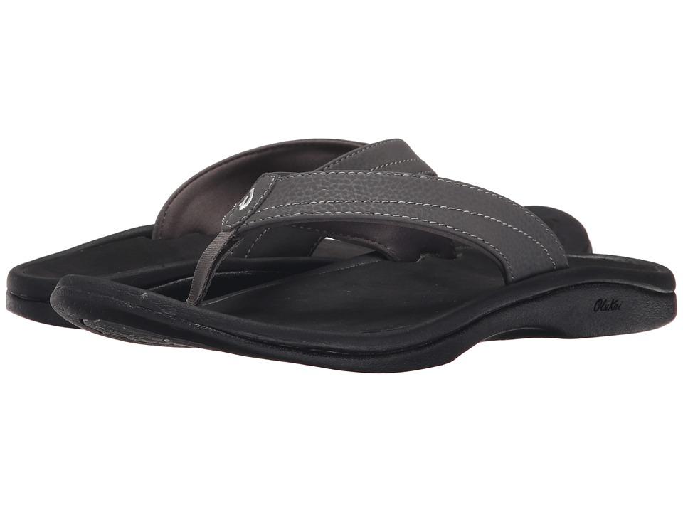 OluKai Ohana W (Basalt/Grey) Sandals