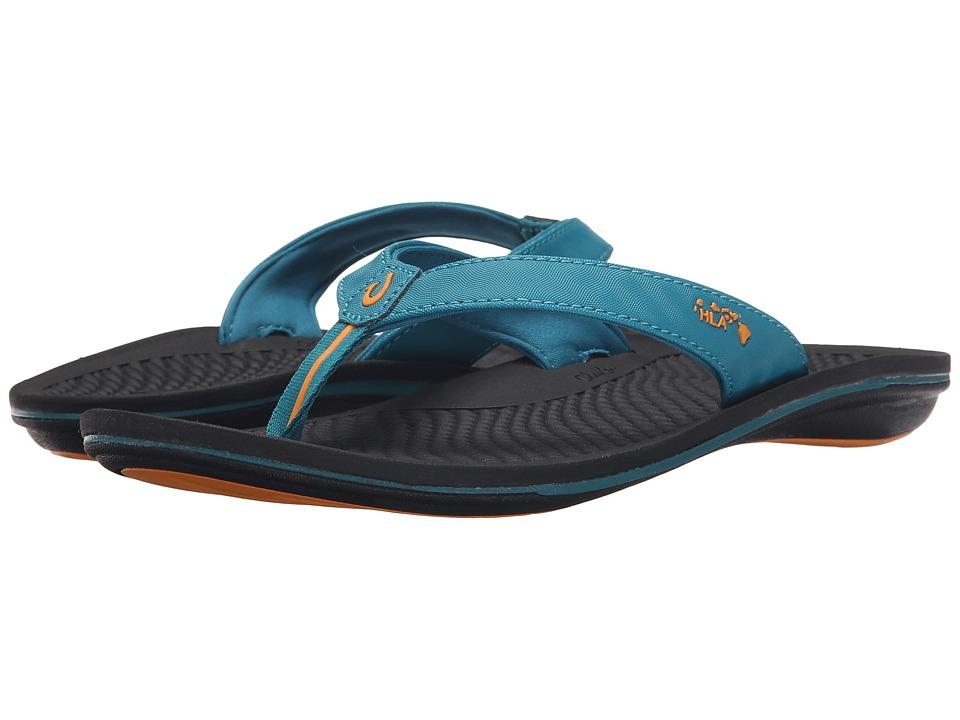 OluKai - Kia'i Wahine (Teal/Black) Women's Sandals