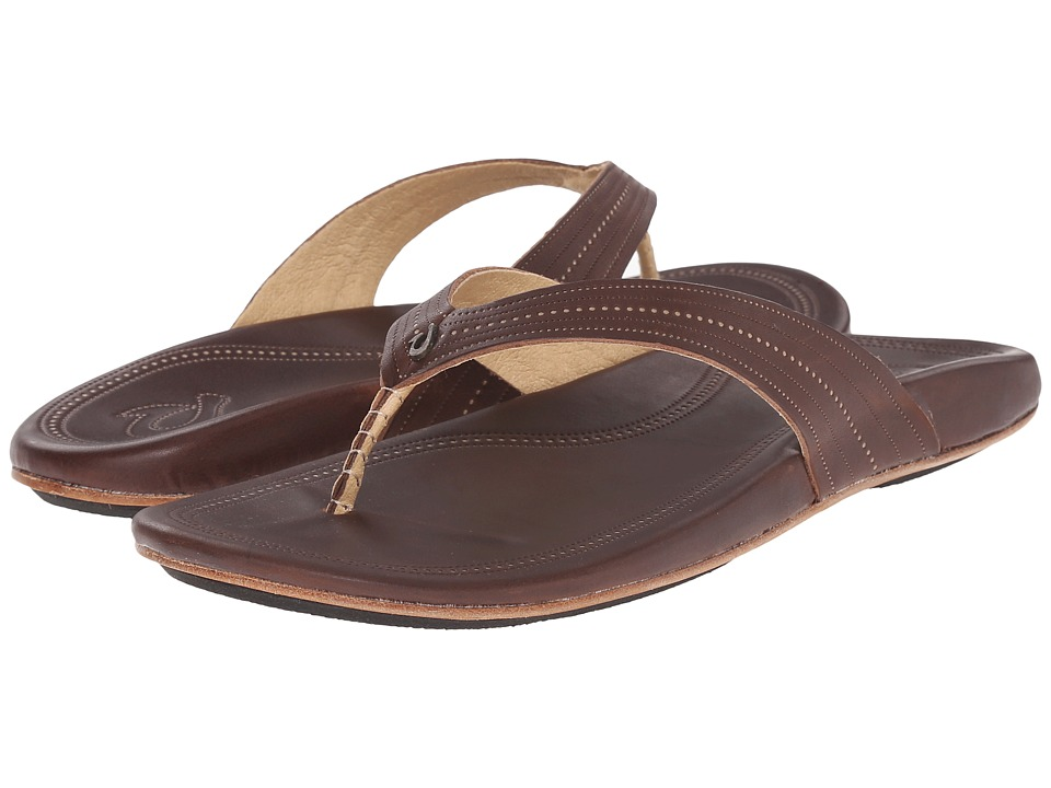OluKai - Wana (Dark Java/Dark Java) Women's Sandals