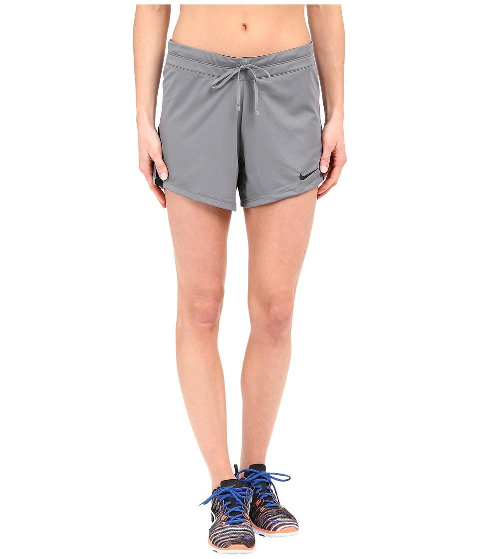 Nike Infiknit Mid Shorts (Cool Grey/Black/Black/Black) Women