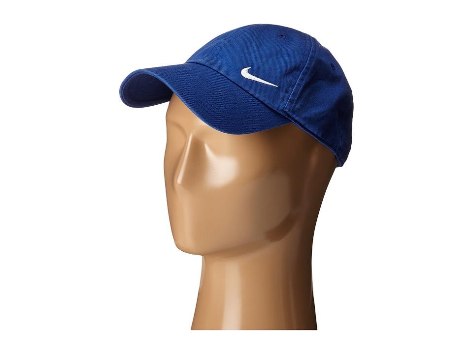 Nike Heritage 86 Swoosh Cap Deep Royal Blue/White Caps