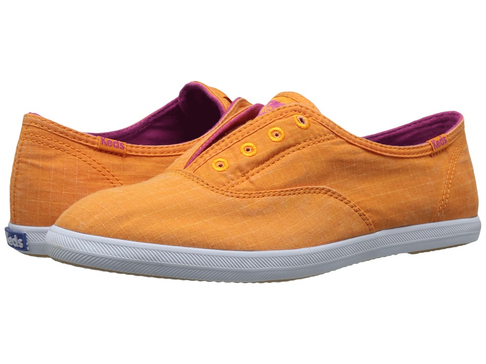 Keds Chillax Ripstop Orange Womens Slip on Shoes
