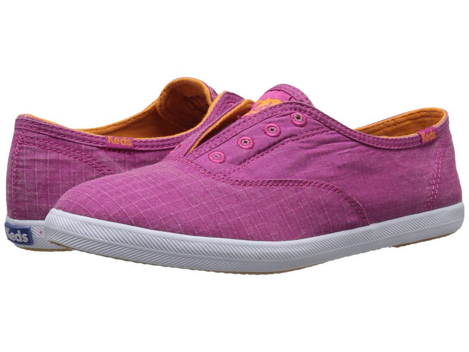 Keds Chillax Ripstop Berry Pink Womens Slip on Shoes