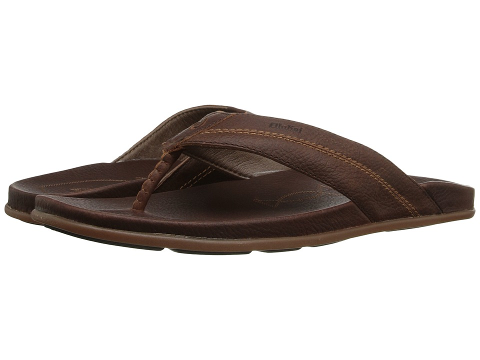 OluKai - Mohalu (Teak/Teak) Men's Sandals
