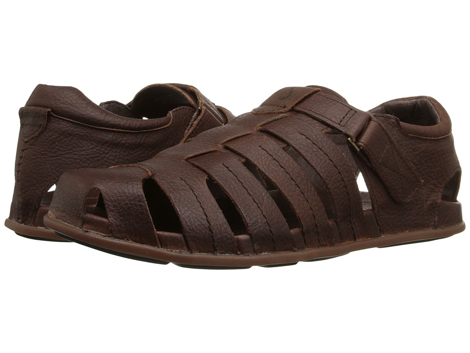 OluKai - Mohalu Fisherman (Teak/Teak) Mens Sandals