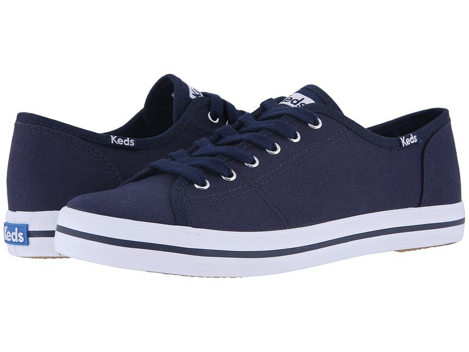 Keds Kickstart Navy Womens Lace up casual Shoes