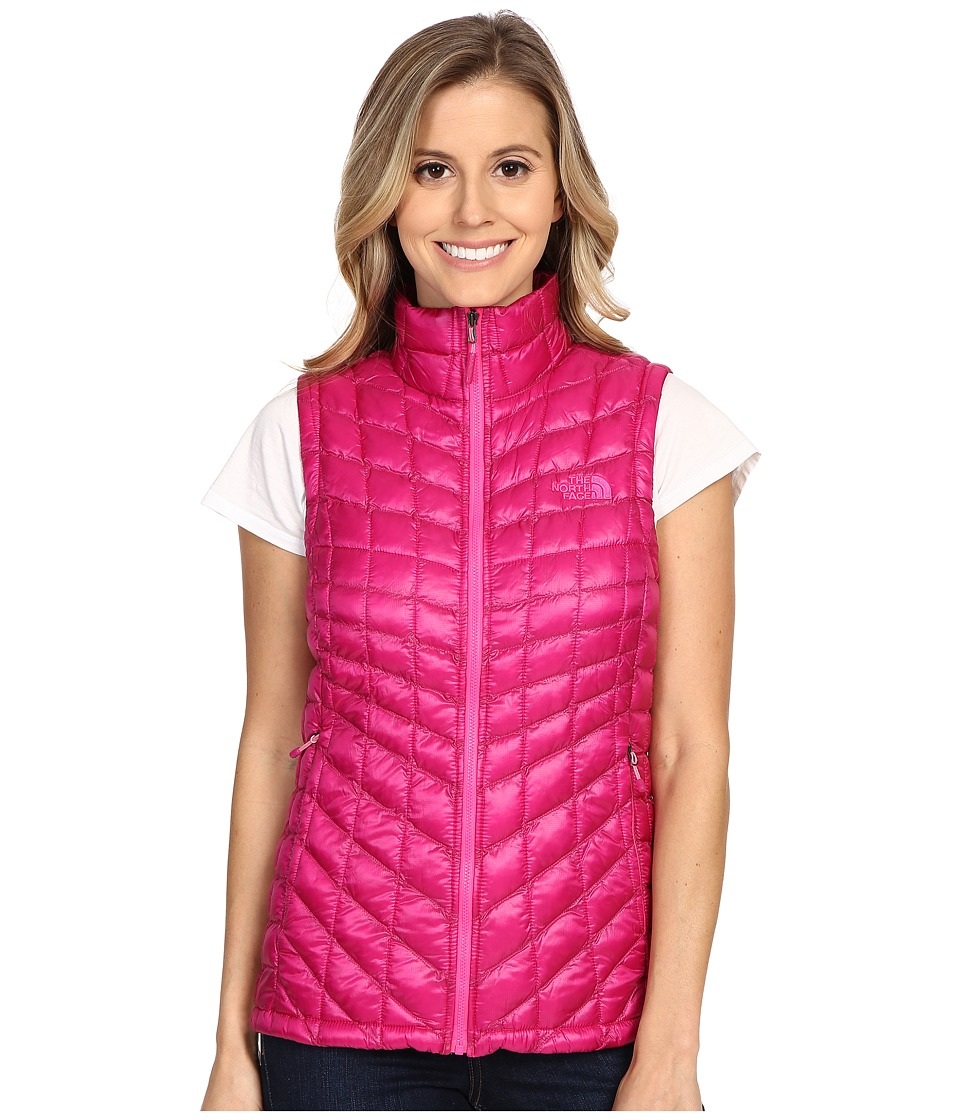 The North Face - ThermoBall Vest (Fuchsia Pink) Women