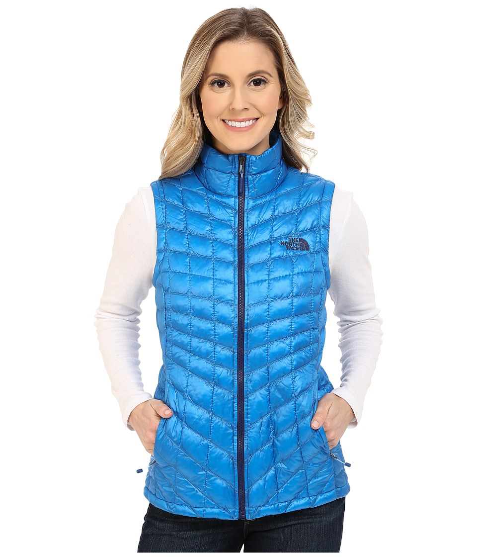 The North Face - ThermoBall Vest (Clear Lake Blue) Women