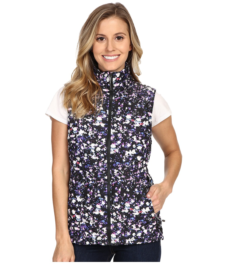 The North Face - ThermoBall Vest (TNF Black Floral Crystal Print) Women