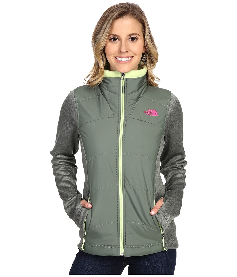 The North Face Agave Mash Up Jacket Laurel Wreath Green/Laurel Wreath Green Heather Womens Coat