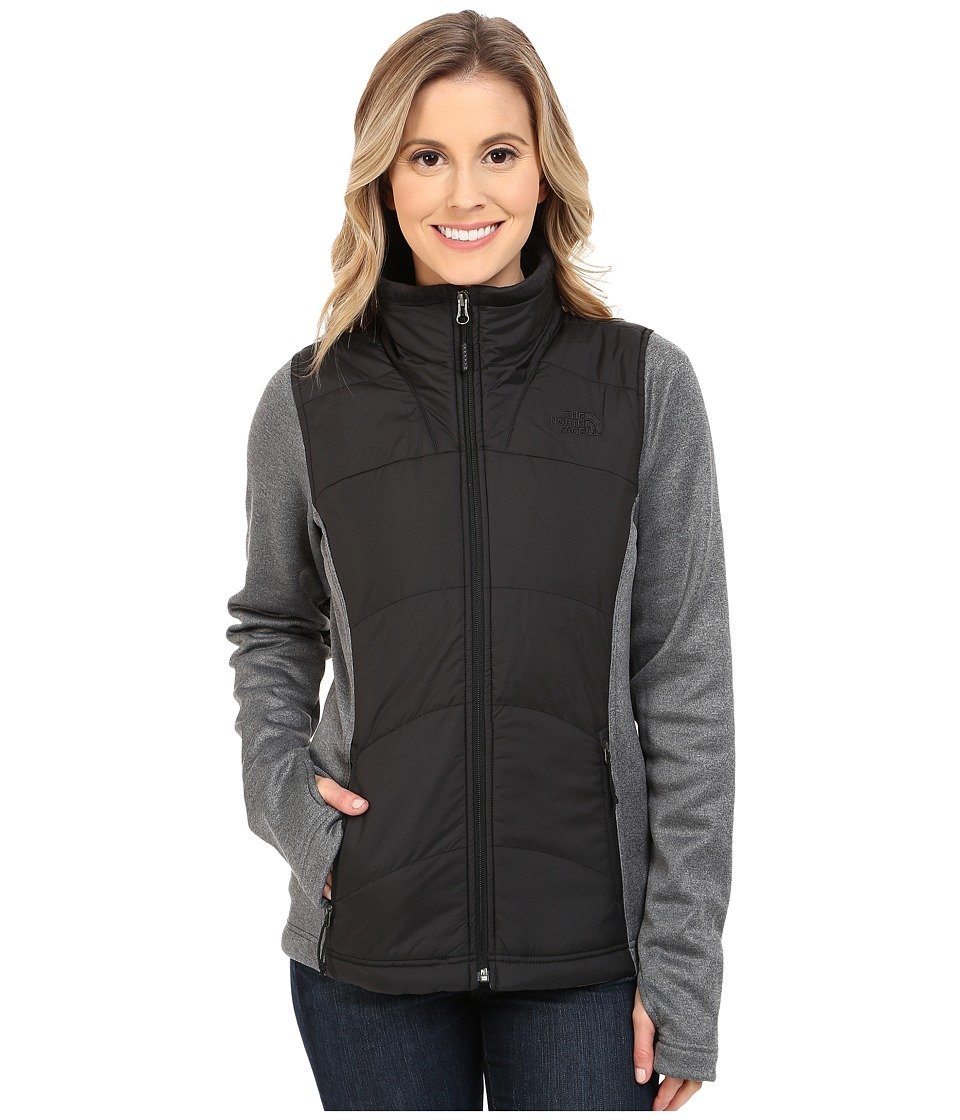 The North Face Agave Mash Up Jacket TNF Black/TNF Dark Grey Heather Womens Coat