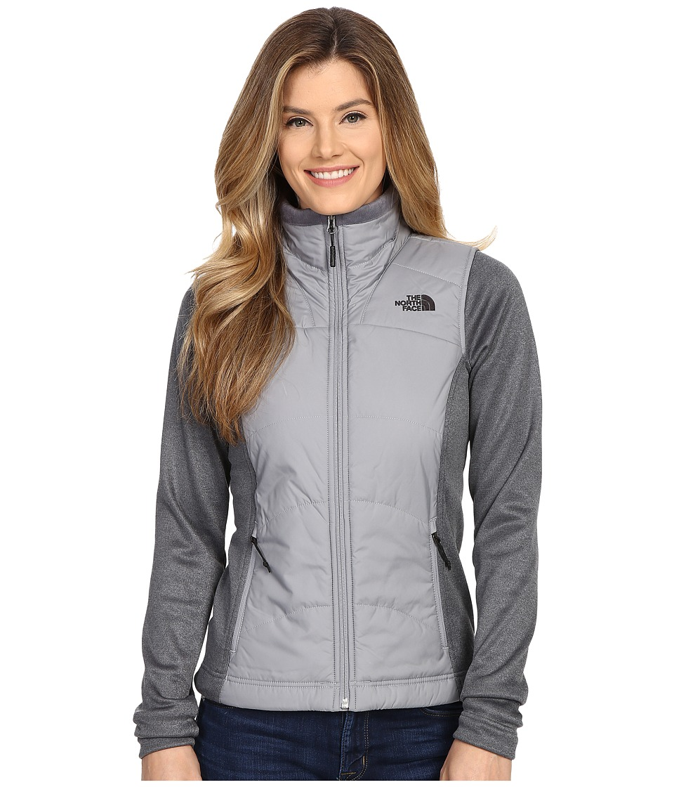 The North Face Agave Mash Up Jacket Mid Grey/TNF Medium Grey Heather Womens Coat