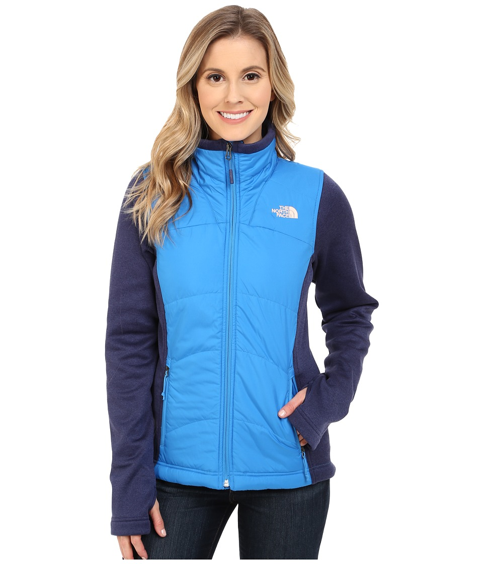The North Face Agave Mash Up Jacket Clear Lake Blue/Patriot Blue Heather Womens Coat