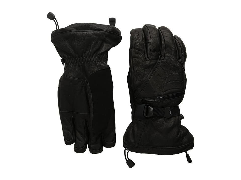 Spyder Ultraweb Ski Glove (Black) Ski Gloves