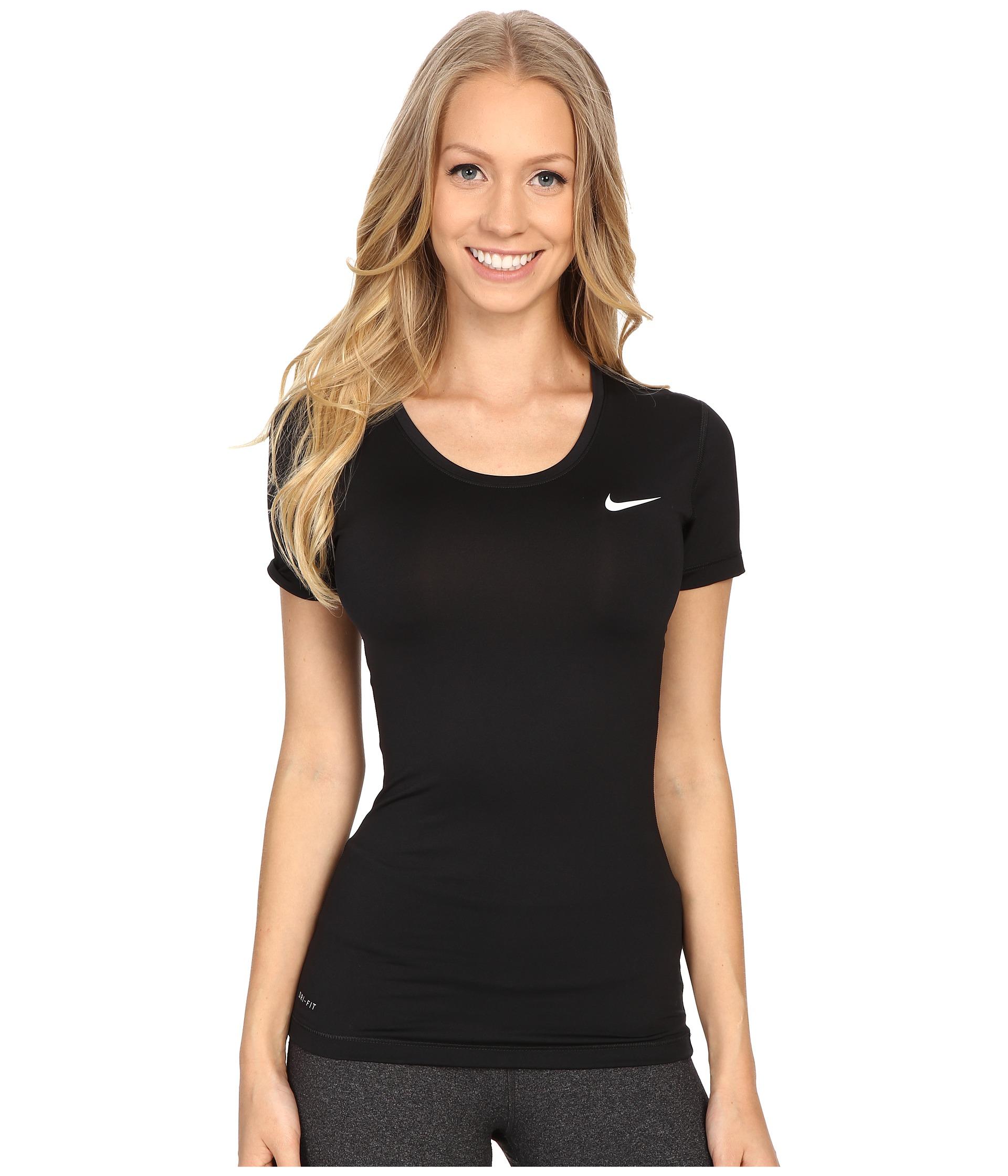 Nike pro cool short sleeve shirt at for Nike short sleeve shirt