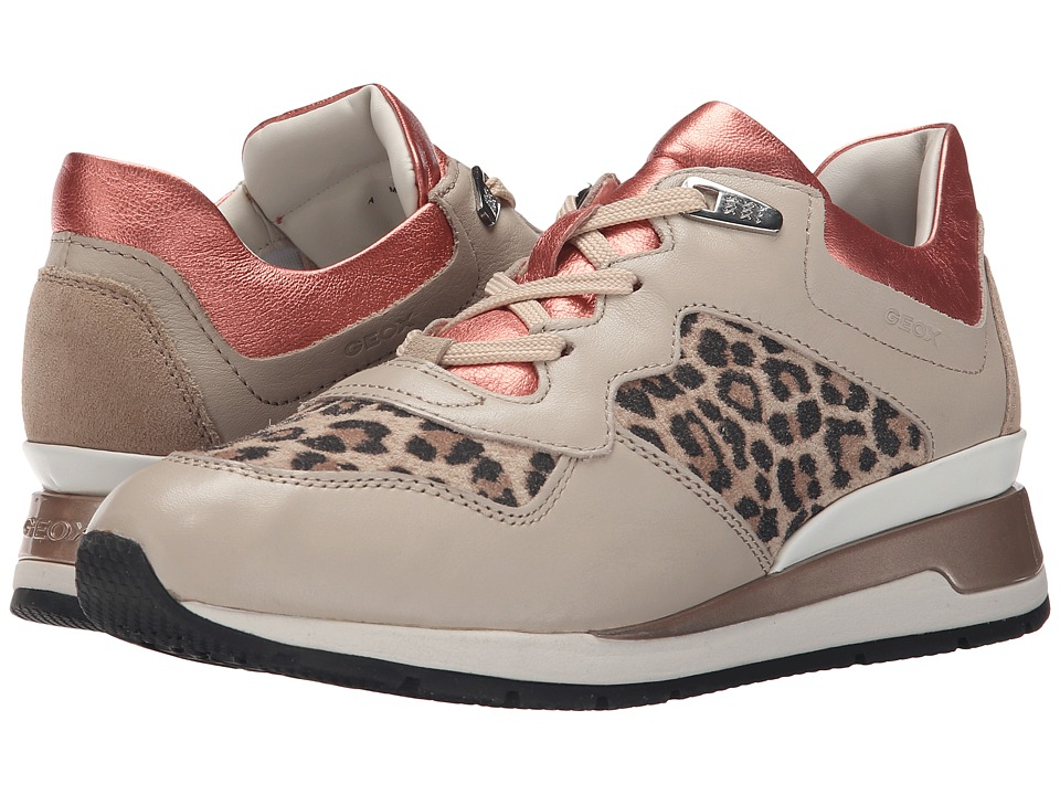 Geox - WShahira21 (Light Taupe/Coral) Women