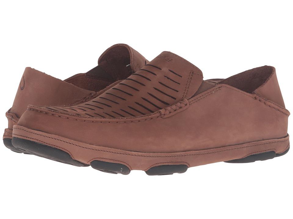 OluKai Moloa Kohana II (Rum/Rum) Men's Shoes