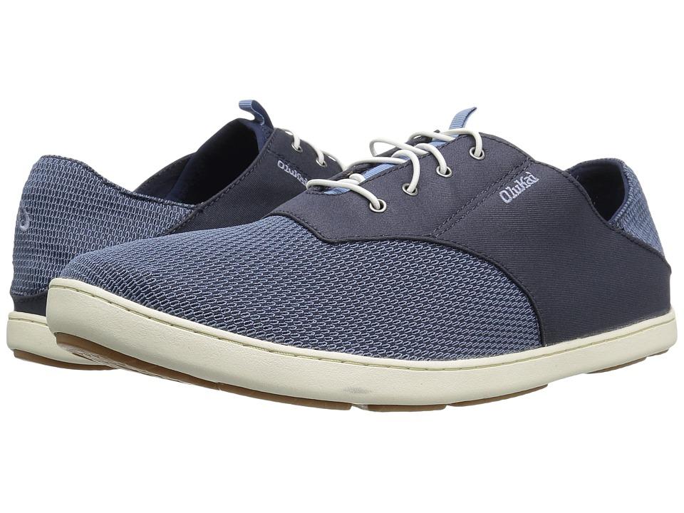 OluKai Nohea Moku (Trench Blue/Trench Blue) Men's Shoes