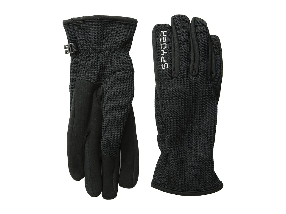 Spyder Core Sweater Conduct Glove (Black) Ski Gloves