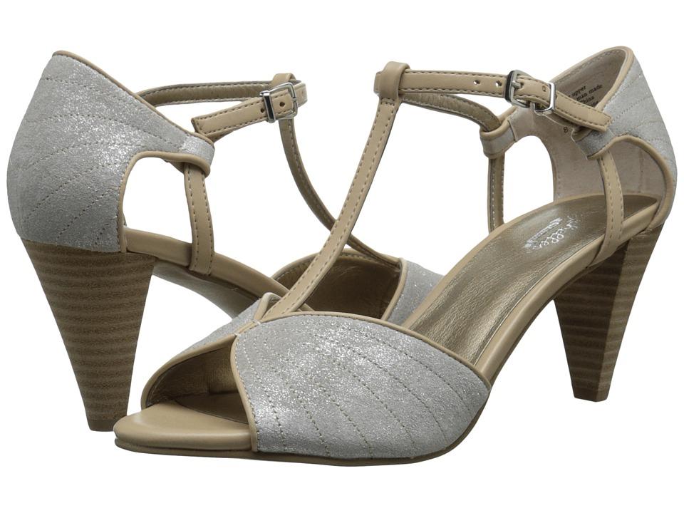 Seychelles - U-Turn SilverVacchetta High Heels $100.00 AT vintagedancer.com