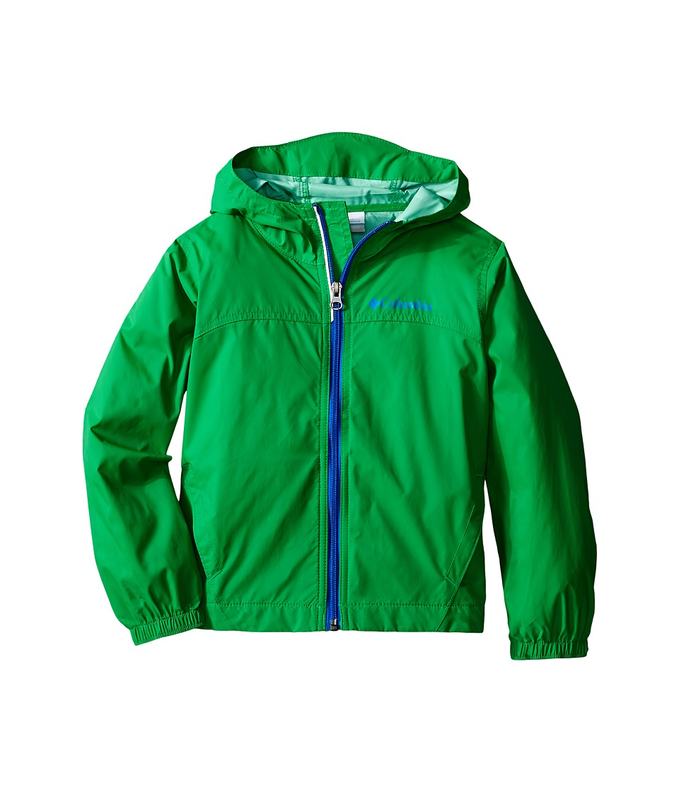 Columbia Kids Glennaker Rain Jacket (Little Kids/Big Kids) (Fuse Green) Boy