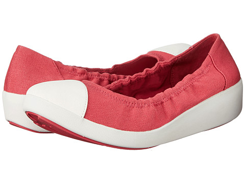 FitFlop F-Pop Ballerina Canvas™