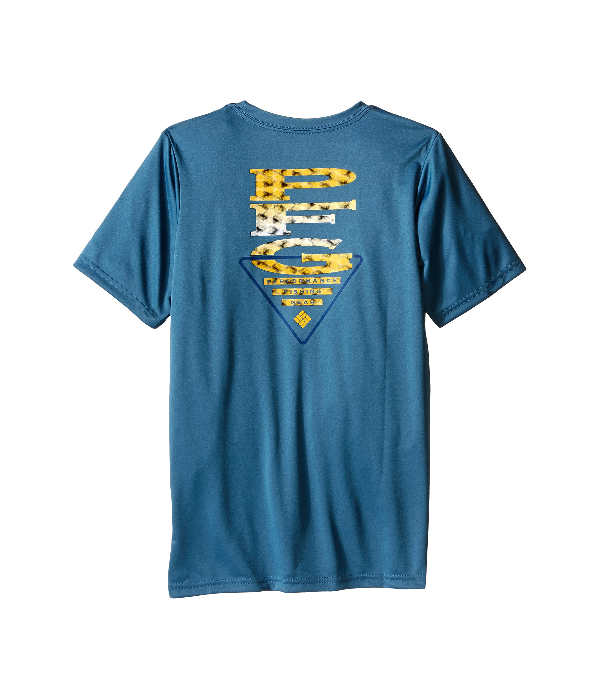 Columbia kids pfg stacked scales graphic tee little kids for Baby fishing shirts columbia