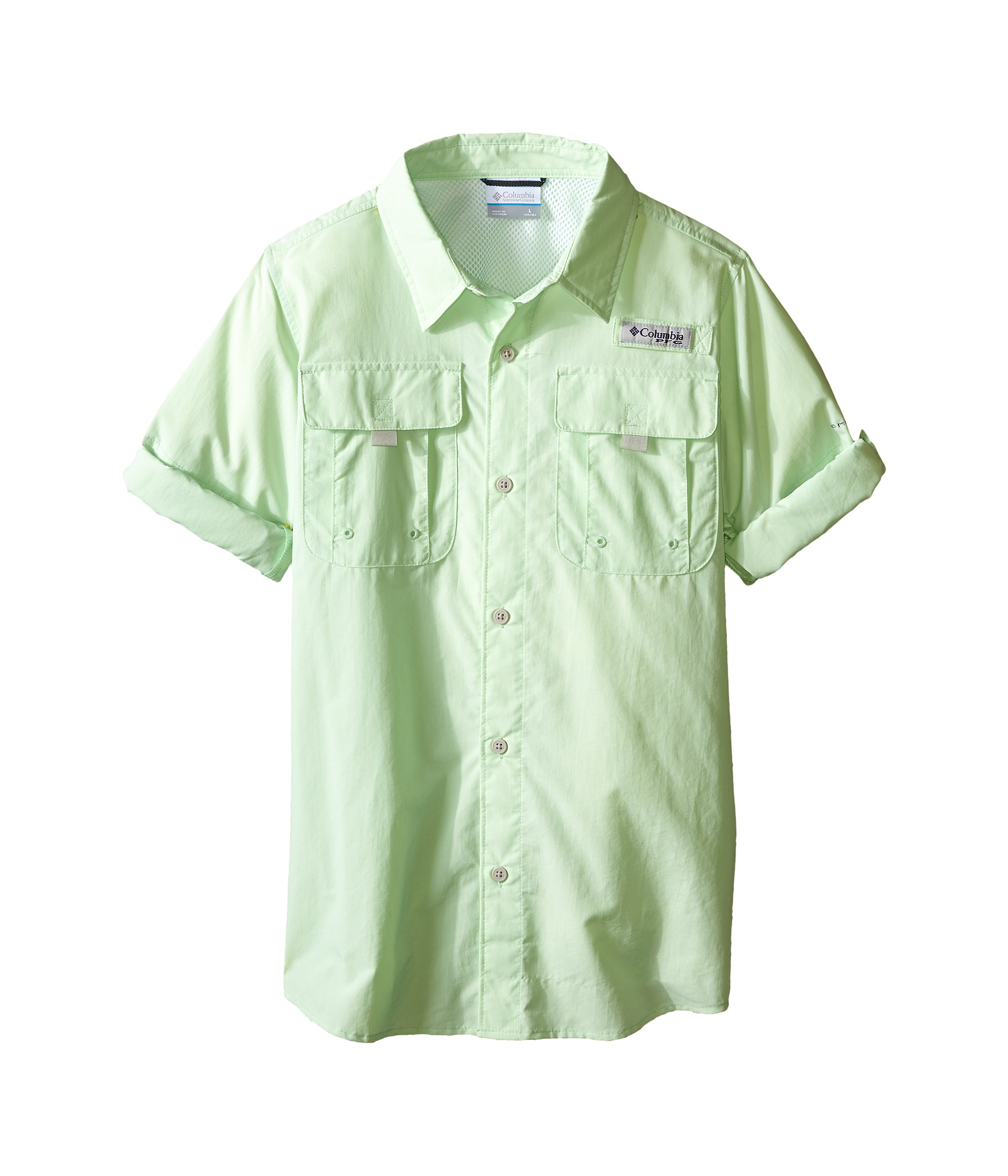 Columbia kids bahama l s shirt little kids big kids at for Baby fishing shirts columbia