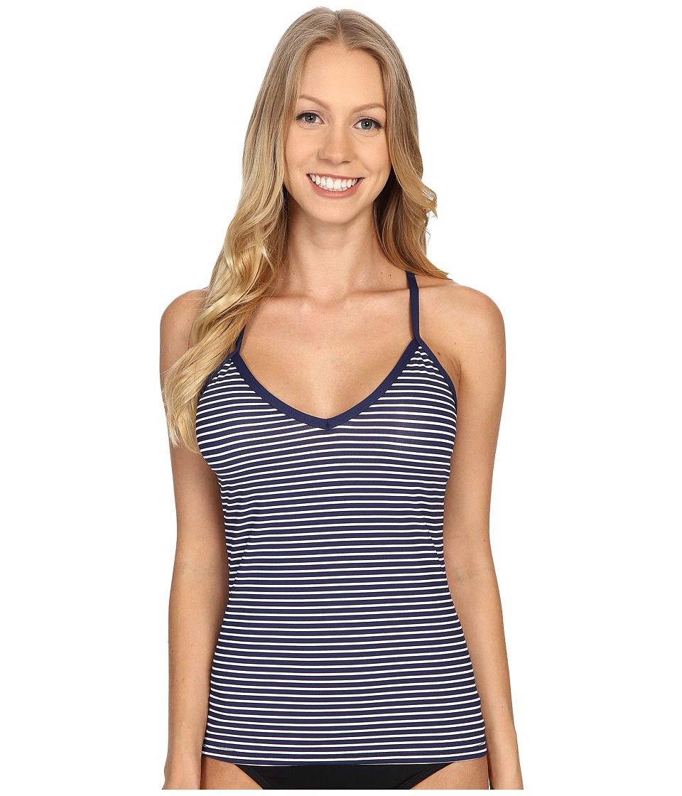 Carve Designs Catalina Tankini Anchor Stripe Womens Swimwear